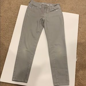 Girls justice jeans simply low super skinny 8R